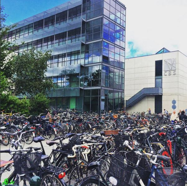 Bicycles at CBS